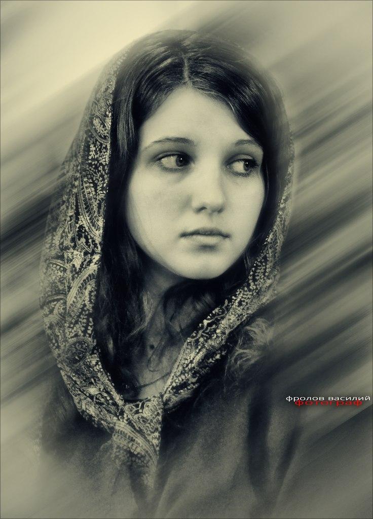 Василий Фролов. woman portrait