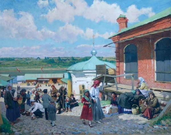 В Плёсе - Костромском
