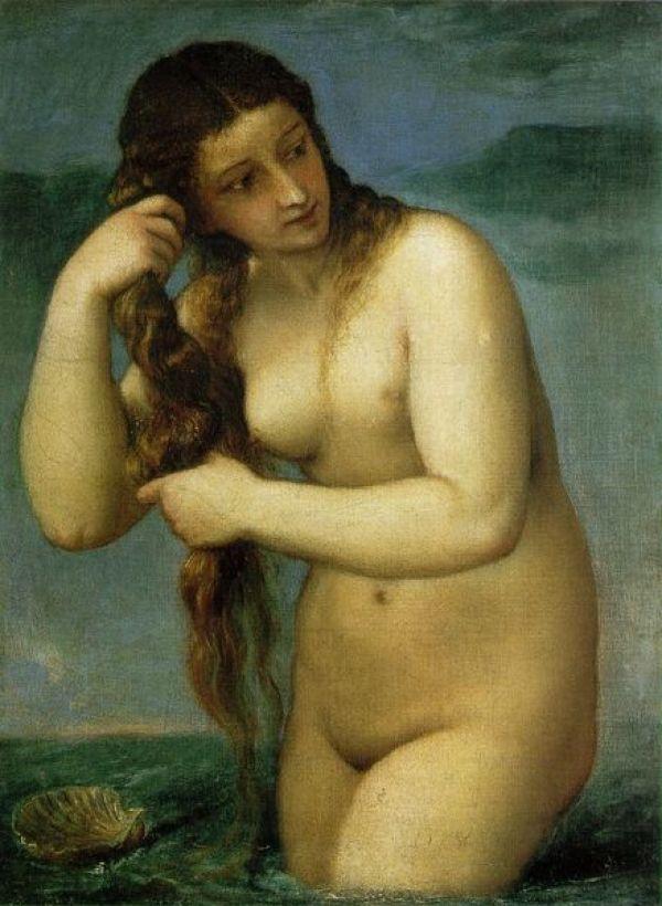 ТИЦИАН Венера Анадиомена. Ок. 1525